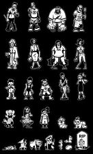 Build your Zombie Family (Car Window Decals Stickers Stick Figures) Walking Dead