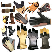 ARCHERS LEATHER SHOOTING GLOVES,