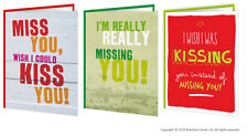 Brainbox Candy Missing You Greeting Cards wife husband boyfriend girlfriend