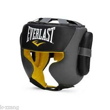 EVERLAST C3 Sparring Headgear Head Gear Protector Boxing MMA Muaythai Kickboxing