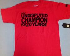 """UFC BRAND NEW """"UNDISPUTED"""" RED T-SHIRT - NWT - UFC STORE - BLOWOUT"""