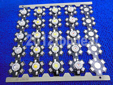 10 50 100 pcs 1W 3W High Power red/green/Blue/Royal blue LED with 20mm star pcb