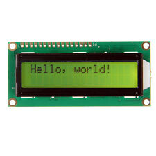 Blue/Red/Yellow/Orange backlight LCD 1602 16x2 Characters display for Arduino