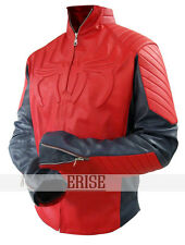 The Amazing Spiderman Red and Blue Leather Jacket -100% money Back guarantee!!!
