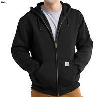 CARHARTT 100632 THERMAL-LINED ZIP FRONT HOODED SWEATSHIRT VARIOUS COLORS & SIZES