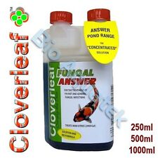 Cloverleaf Fungal Answer Pond Treatment Fungus Infections Fin Rot Koi Goldfish