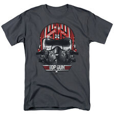 Top Gun Goose Helmet mens t-shirt