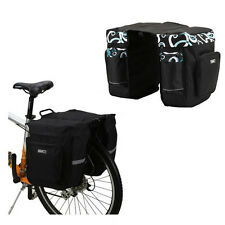 37L Bike Cycling Bicycle Wholesale Rear Rack Twin Double Two Bag Pannier Set