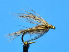 MARCH BROWN SOFT HACKLE,   Sold Per 6