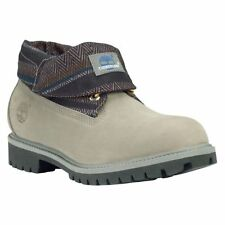 Timberland Roll Top Earthkeepers Mens Size Gray Waterbuck Boots Style 6457A