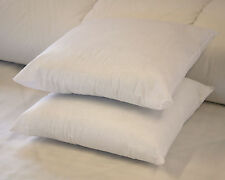 """Luxury Euro Continental Duck Feather Pillow Square 65 x 65cm 26"""" Single or Pair"""