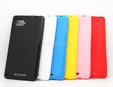 New Slim Fit TPU Silicone Gel Candy Case Cover Skin Back For Lenovo VIBE Z K910