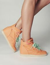 The People's Movement MOVMT Jade Hidden Wedge Sneaker Coral 5,6,7,8,9 NIB NEW