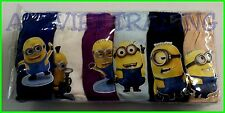 BNIP Despicable Me Minions boys Undies / Briefs jocks 6 pack cotton underwear