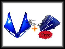 Yamaha 2004-2006 YZF R1 YZF-R1 YZF ABS Upper Fairing Cowl +Free Blue Windshield