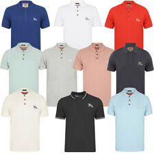 TOKYO LAUNDRY MENS COTTON BUTTON UP CLASSIC CASUAL POLO T-SHIRT TOP SIZE S-XXL