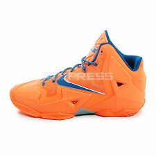 Nike Lebron XI XDR [626374-800] Basketball Atomic Orange/Green Abyss-Glacier Ice