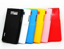 New Slim TPU Silicone Gel Candy Case Cover Skin Back For LG OPTIMUS L7 P700 P705