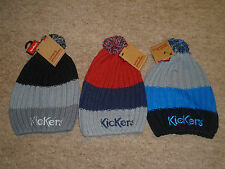 Bnwt Kickers Bobble Hat Mens One Size