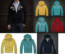 NWT Hollister by Abercrombie Mens Hoodies  - Size S,M,L,XL - Very Cool -  Rare