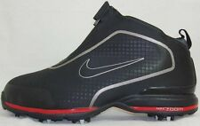 NIKE ZOOM BANDON (W) Mens GOLF SHOES NEW WIDE - 379209 006 - BLACK / RED