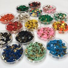 Drawing Pins 9.5mm Single & Mixed Assorted Colours x75