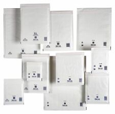 Sealed Air Mail Lite White   Bubble lined WHITE Padded Envelopes   All Sizes