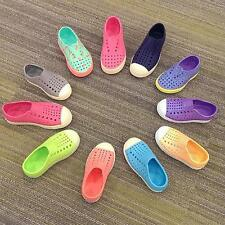 New Natives Slip on JEFFERSON MILLER Children Teen Water Proof Shoes all colors