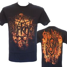 SLIPKNOT - RADIO FIRE LOGO - Official Licensed T-Shirt - Metal - New S M L XL