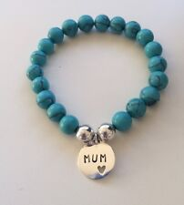 Bracelet for Mum perfect for Mothers Day - Stone and Sterling Silver