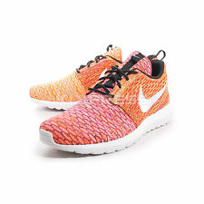 Nike Flyknit Rosherun [677243-100] NSW Casual Orange/White sz. 9.5