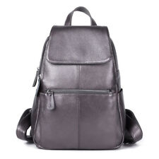 New Genuine Leather First Layer Cow Leather Women's Backpack Tote Bag