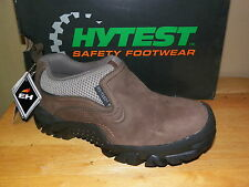 NIB Womens Hytest Steel Toe Slip On Hiker Shoes Szs 7-8  #K10591