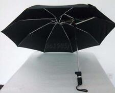 Fashion Compact Automatic Sturdy Travel Eccentric Umbrella Anti UV Parasol