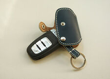 Leather Smart Key Chain Case Cover Fob For AUDI A1 A3 A4 A5 A6 A7 A8