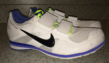 NEW Mens NIKE Zoom TJ 3 Triple Jump Track Spikes Shoes White Blue Volt 14 15