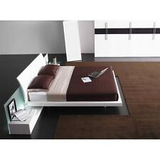 Aron Platform Bed with 2 Nightstands Queen Size by VIG Furniture