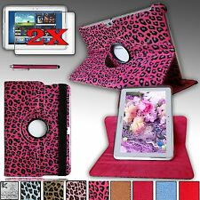 360 Rotating PU Leather Case Cover For Samsung Galaxy Note 10.1 2012 Edition