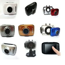 "2"" Mini Sports Cam Action Camera Camcorder DV Touchscreen Waterproof 4x Zoom"