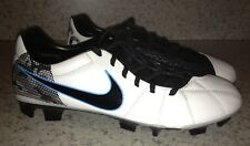 NEW Mens 7 NIKE Total90 T90 Laser III Elite FG Soccer Cleats Futball Boots White