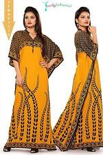Trendy Kaftan, Full-Length Abaya  - Beautiful Design Maxi Dress !! TFMKF1110 !!