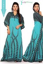 Kaftan - Sky Blue & Black Color - Beautiful Design  !! TFMKF1112 !!