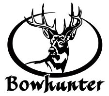 Bow Hunter Decal,deer hunting sticker,archery,compound bow,truck sticker,window