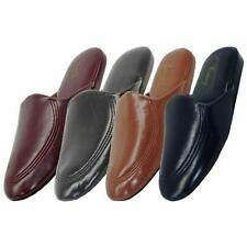 Men's Slippers Available in Sizes 9-13 Black, Brown, Navy, Burgundy NEW IN PACK