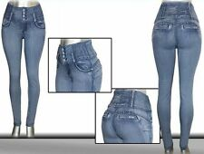 Colombian Brazilian Design High Push-up Levanta Cola Butt Lift Skinny Jean P804