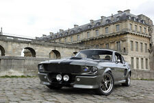 Ford GT500 Eleanor Mustang HD Poster Muscle Car Print multiple sizes available
