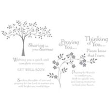 Thoughts & Prayers Stamp Set (Clear or Wood Mount) Stamp Set