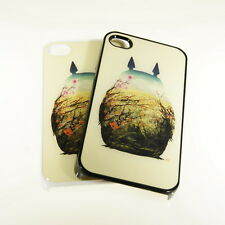 My Neighbor Totoro image Design iPhone 4/4s Snap On Case #ip4-339