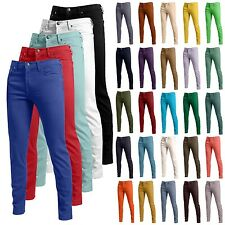 Mens Premium 30 Color Fashion Skinny Fit Pants Stretch Jeans Size 26-40 NEMP01