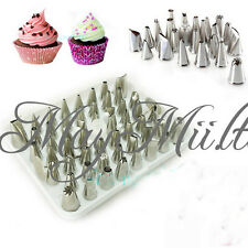 1/6/24Pcs Icing Piping Nozzle  Cake Decorating Sugarcraft Pastry Tips Tool Set M